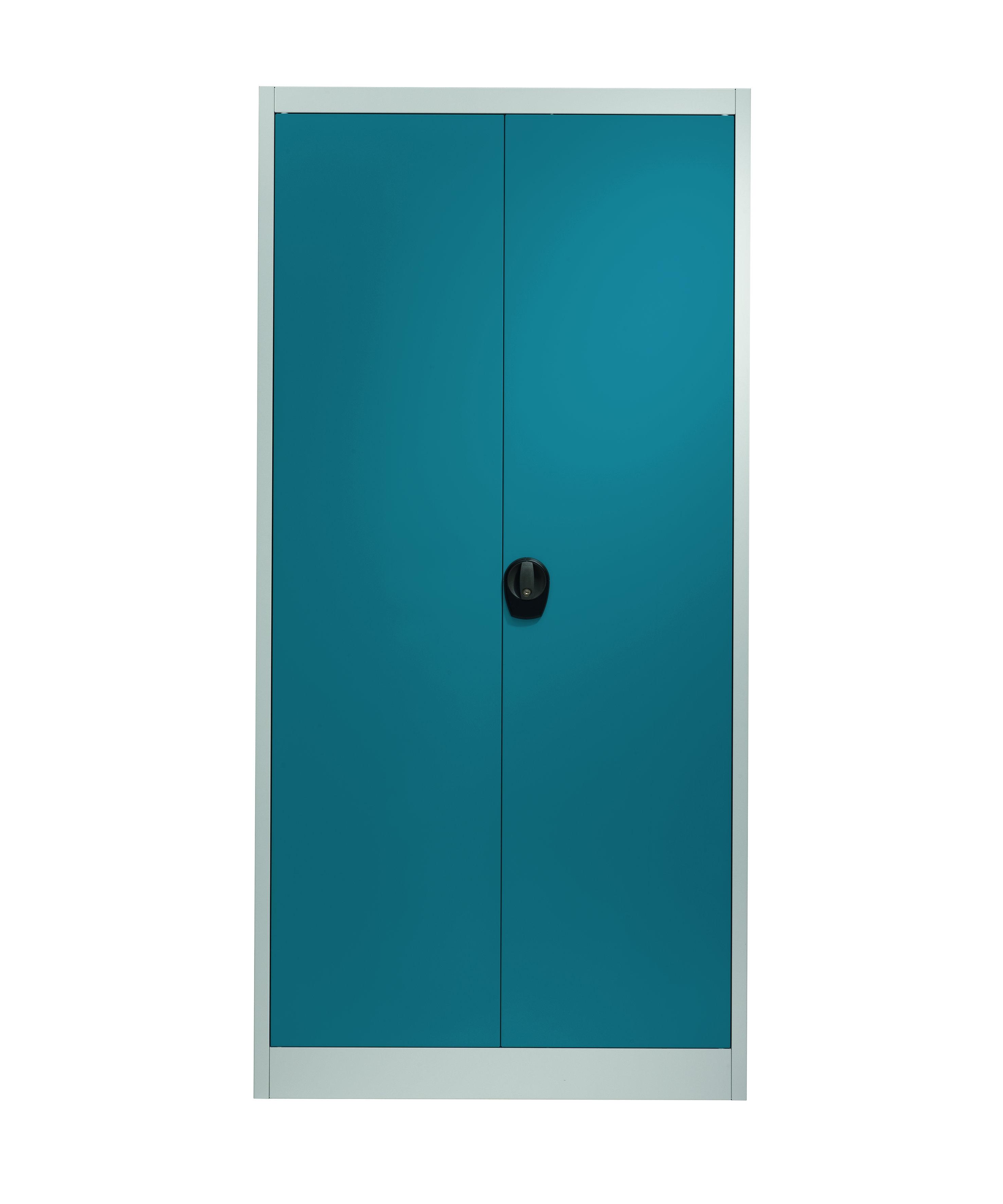 baumarkt wittig werkstatteinrichtung regale spinde mauser fl gelt rschrank brillantblau. Black Bedroom Furniture Sets. Home Design Ideas