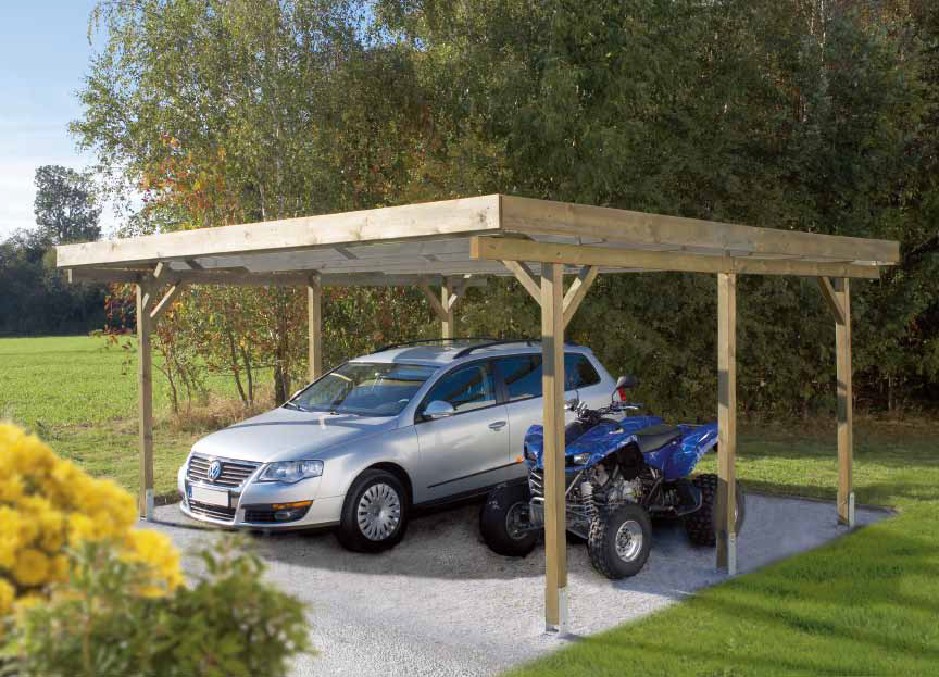 Baumarkt wittig sortiment gartenh user carports for Baumarkt carport